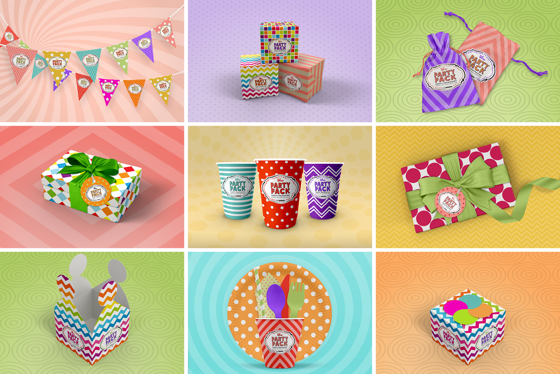 The Party Pack Mockup BUNDLE example image 7