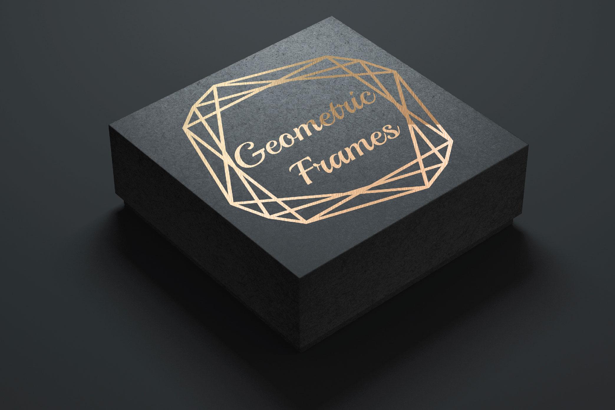 15 Geometric Frames example image 5
