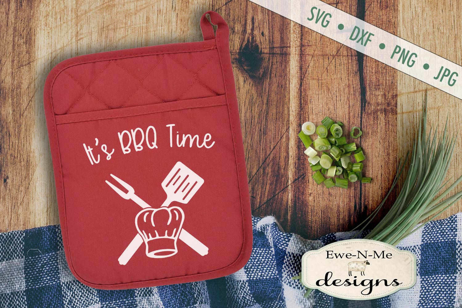 Grilling BBQ Themed Pot Holder Bundle - Fathers Day SVG example image 6