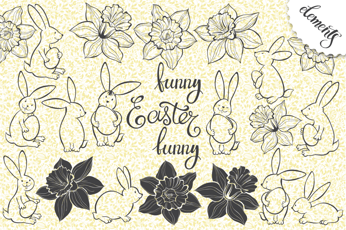 Funny Easter bunnies example image 4