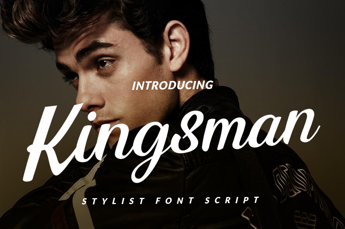 Kingsman Script example image 1
