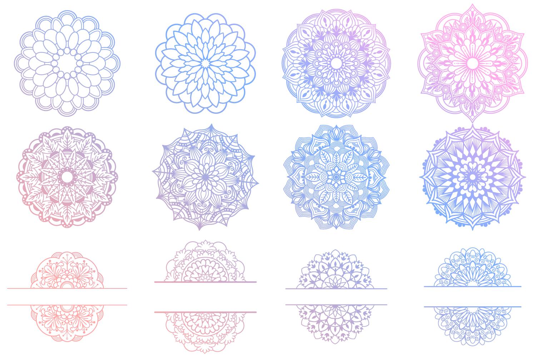 Mandala Bundle- 40 SVG cut files example image 5