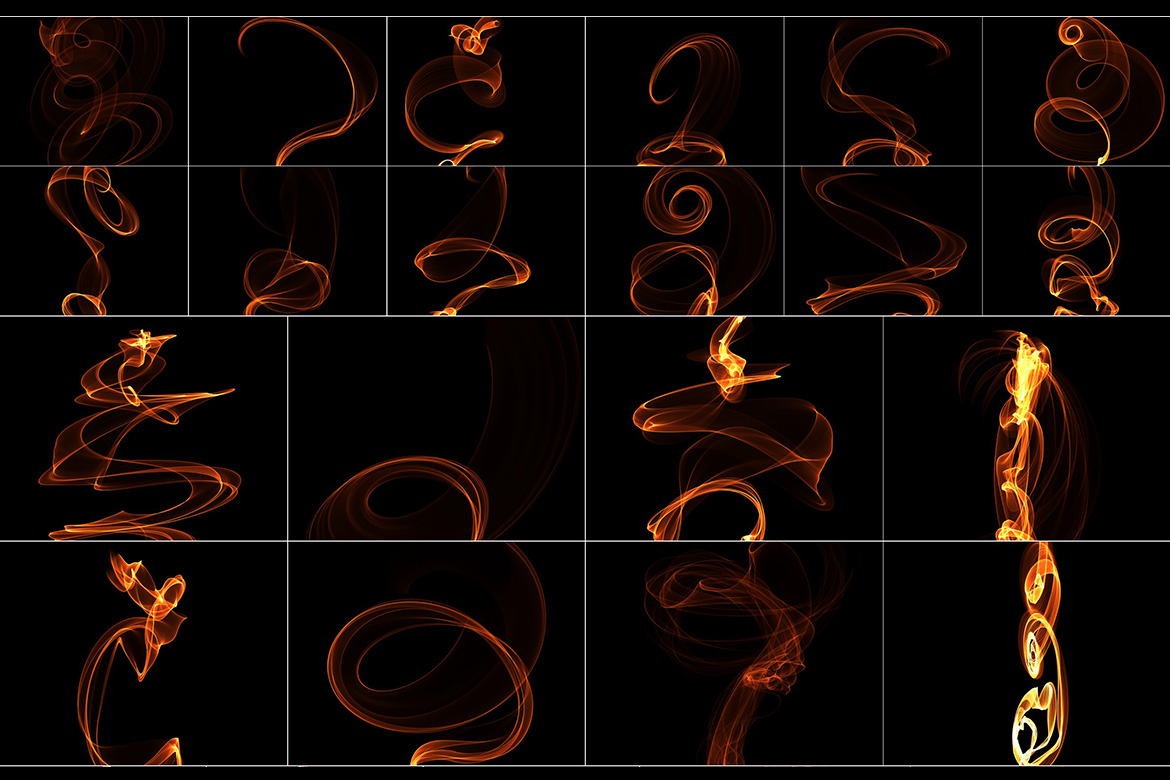 75 Abstract Fire Overlays Vol. 1 example image 4