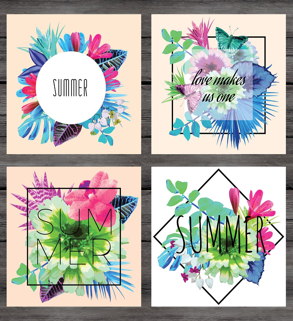 Summer vector prints example image 2