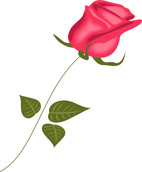 Rose svg - Rose svg files - Rose clipart - Rose digital- files download svg, png, eps, jpg  example image 6