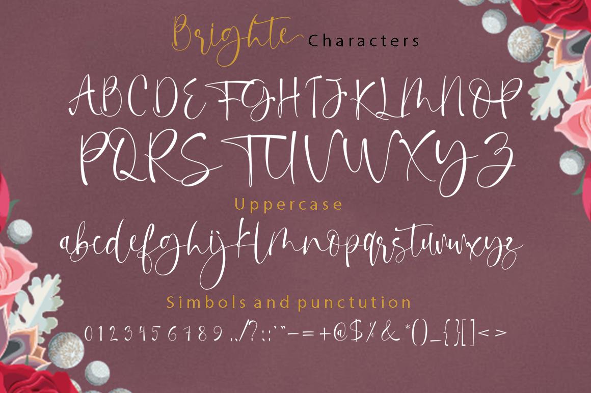 Brighte Script example image 6