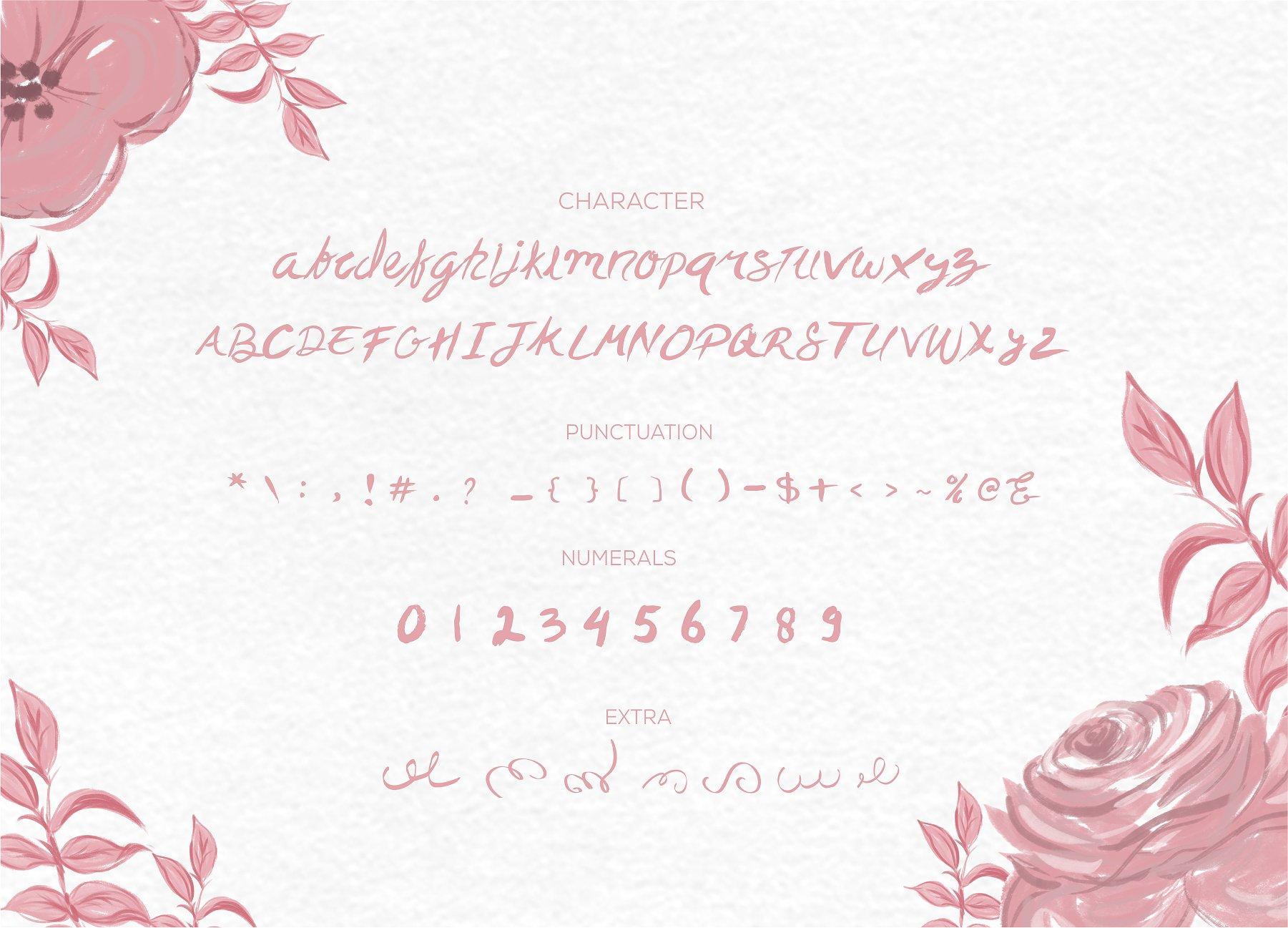 Trying Brush Font example image 3