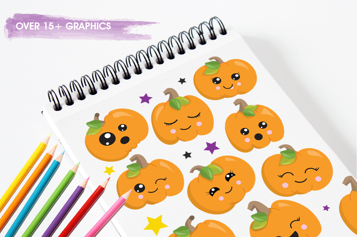 Little Pumpkin graphic and illustrations example image 3