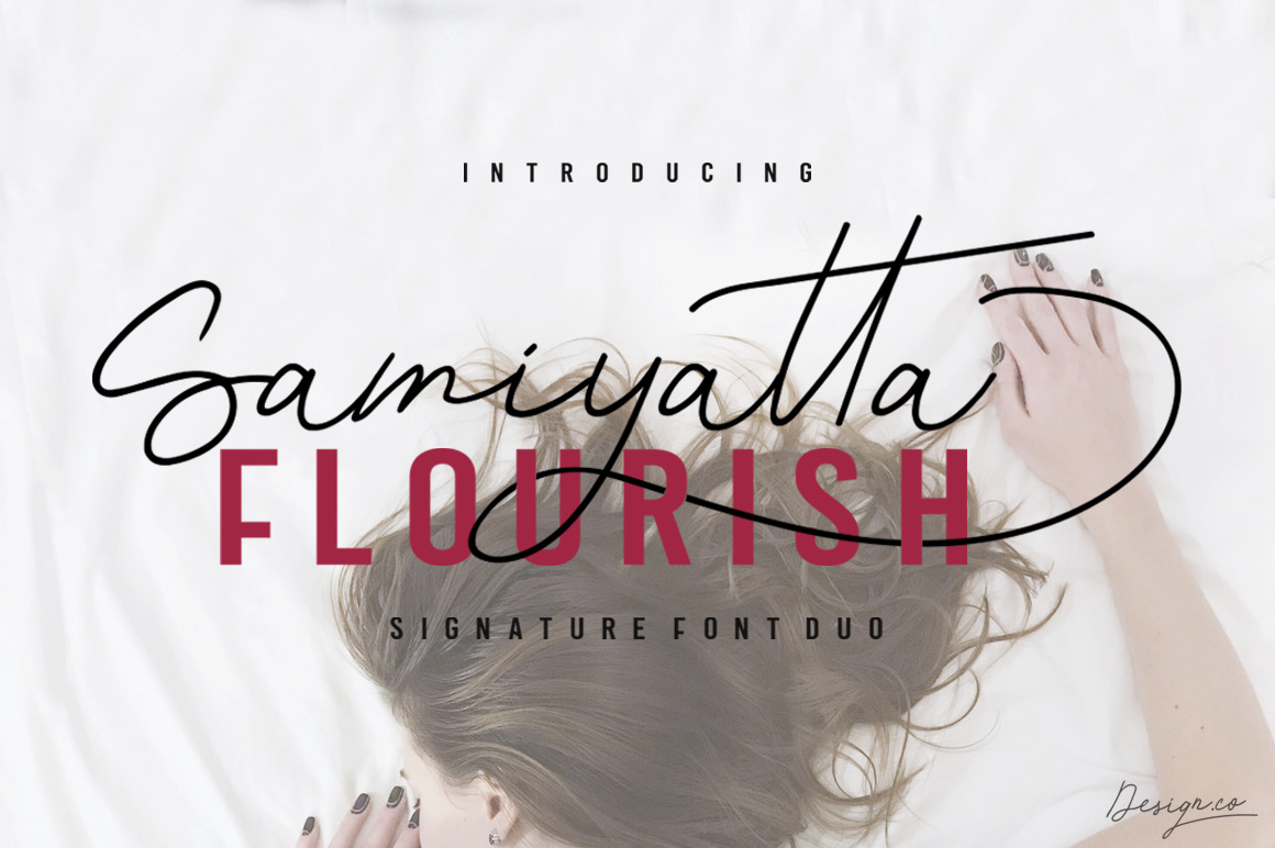 Samiyatta Font Duo example image 2