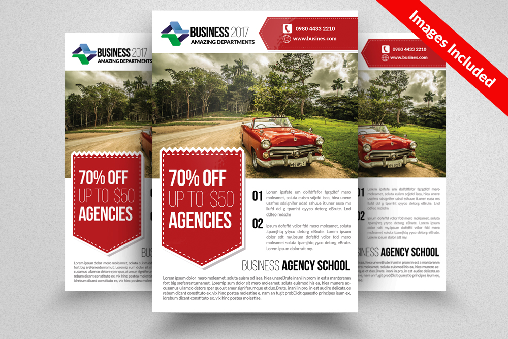 Landscaper Flyer Templates example image 1
