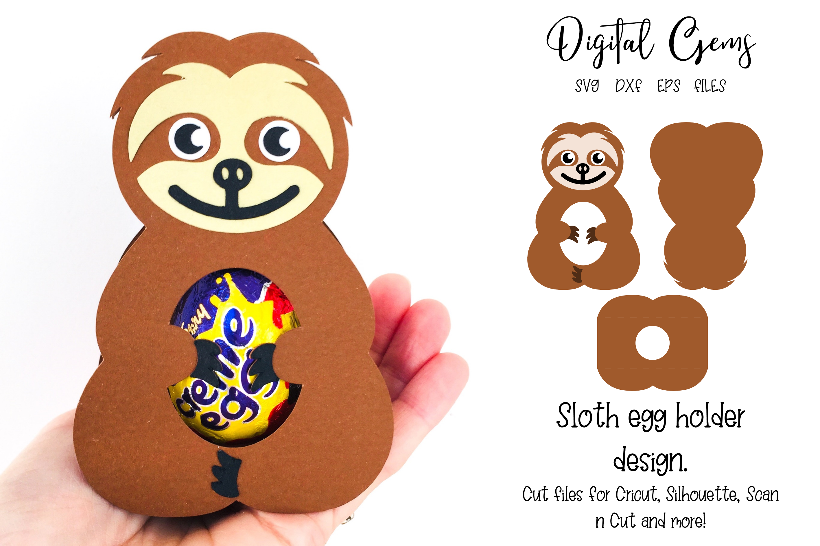 16 Animal egg holder designs - The complete set!!!! example image 14