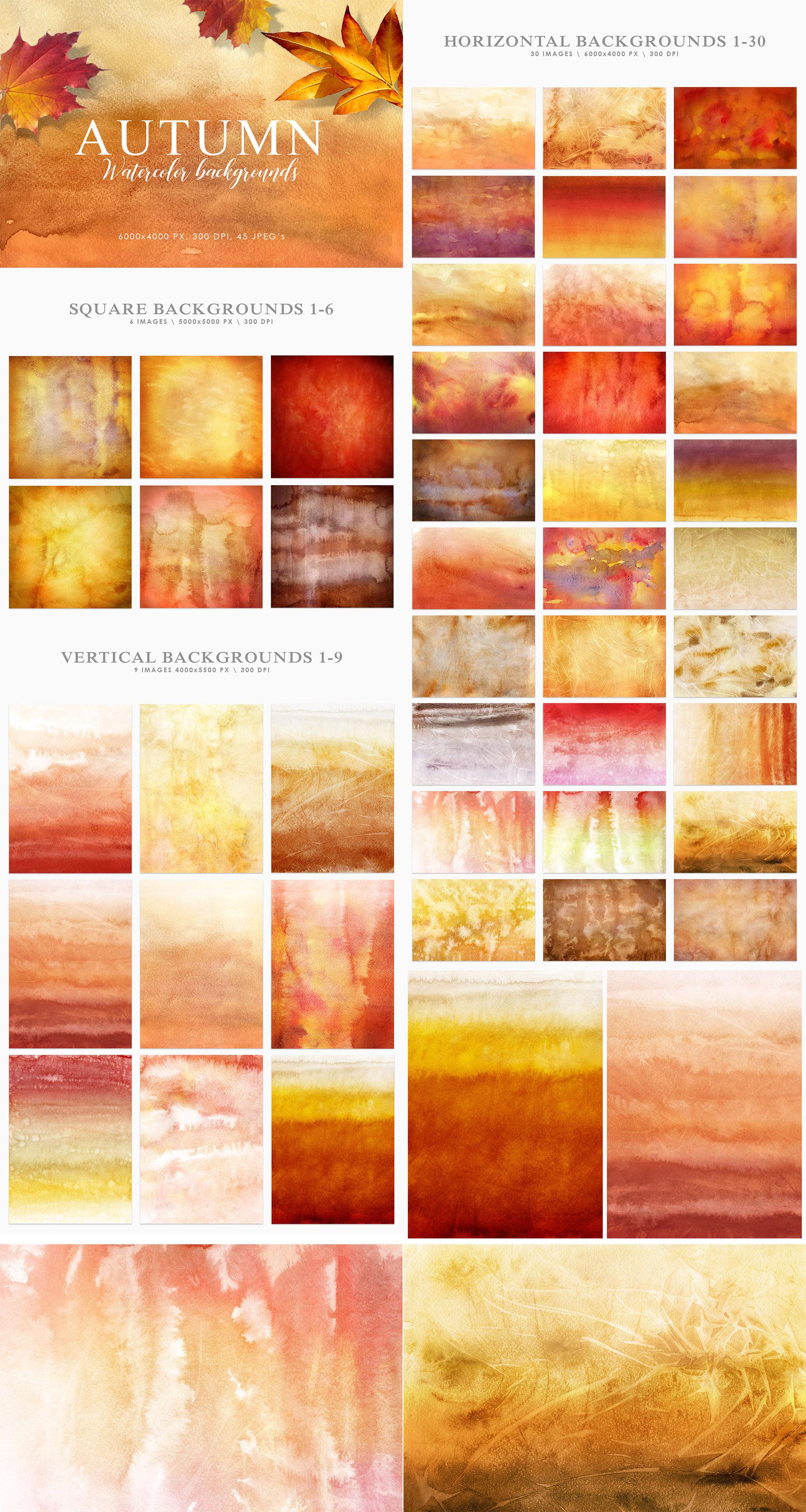 Aesthetic Backgrounds BUNDLE example image 2
