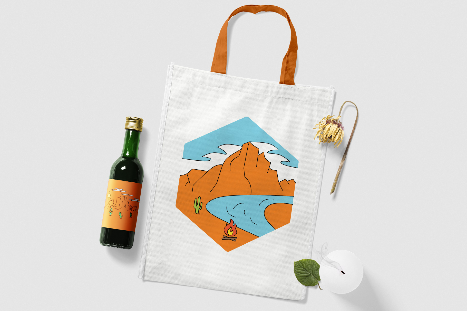 American Adventure Logo Kit / National Park Logos / Mountain example image 11