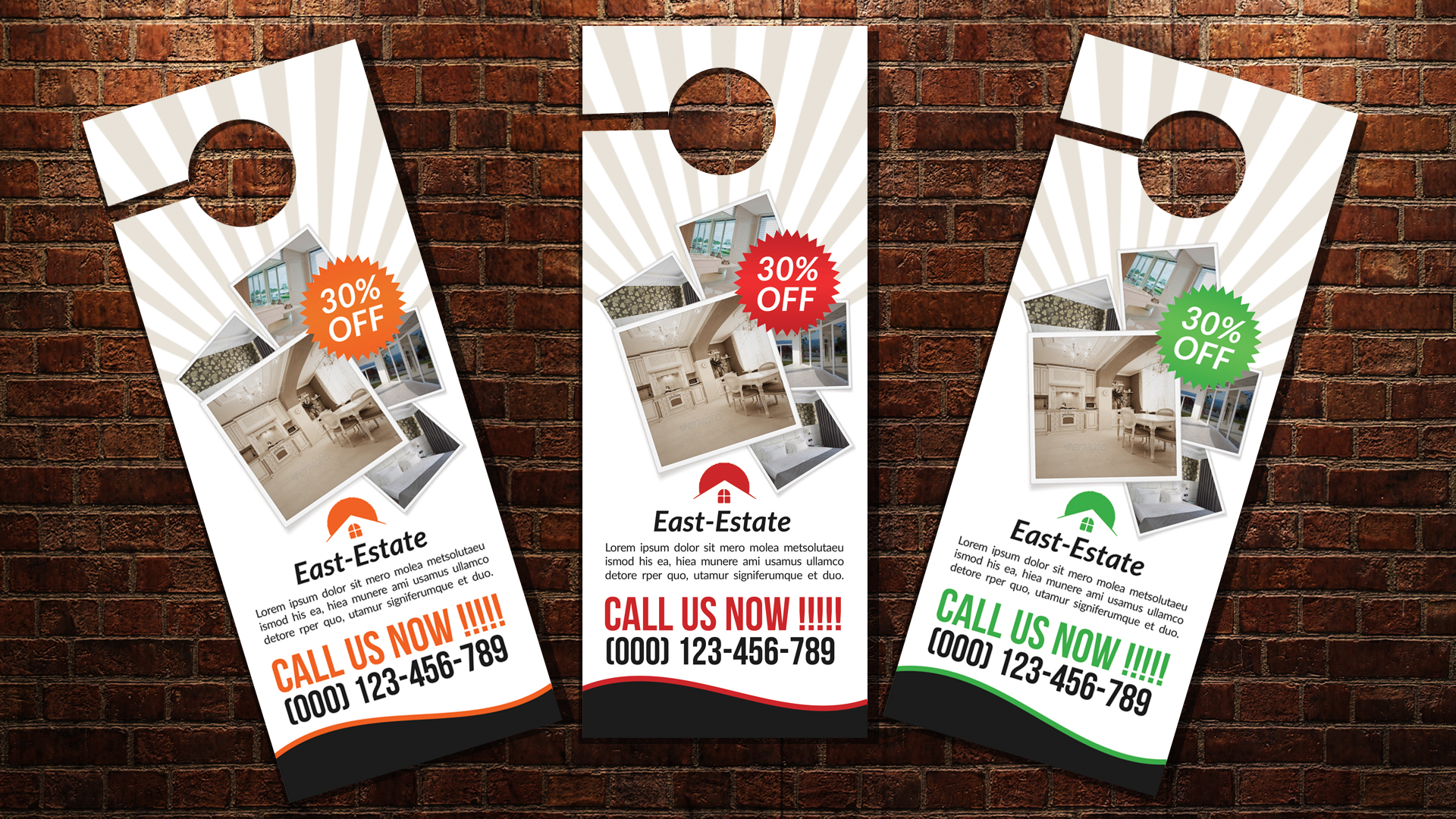 Real Estate Door Hangers example image 3