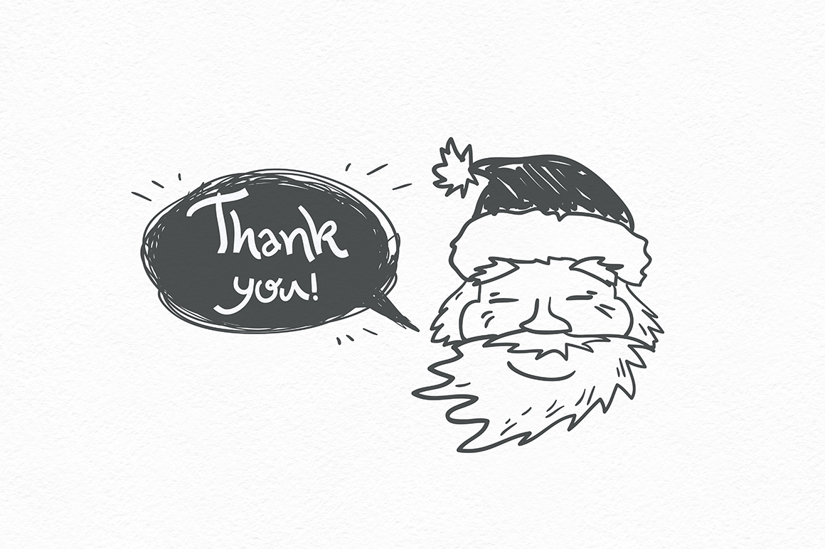 Holly Jolly. Winter doodles. example image 8
