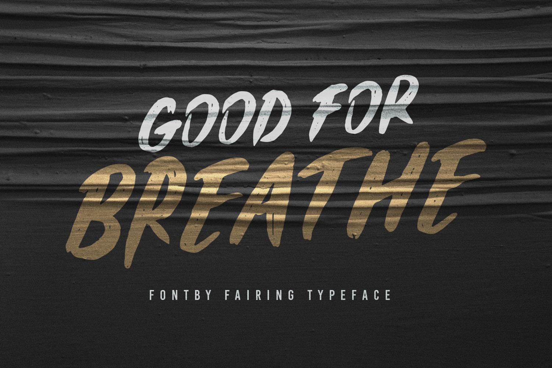 Fairing Brush Fonts example image 4