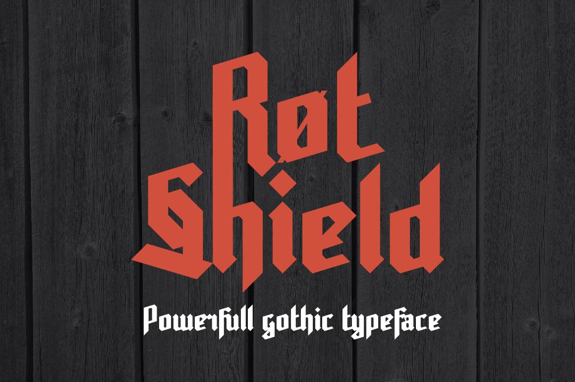 Gothic font bundle example image 4