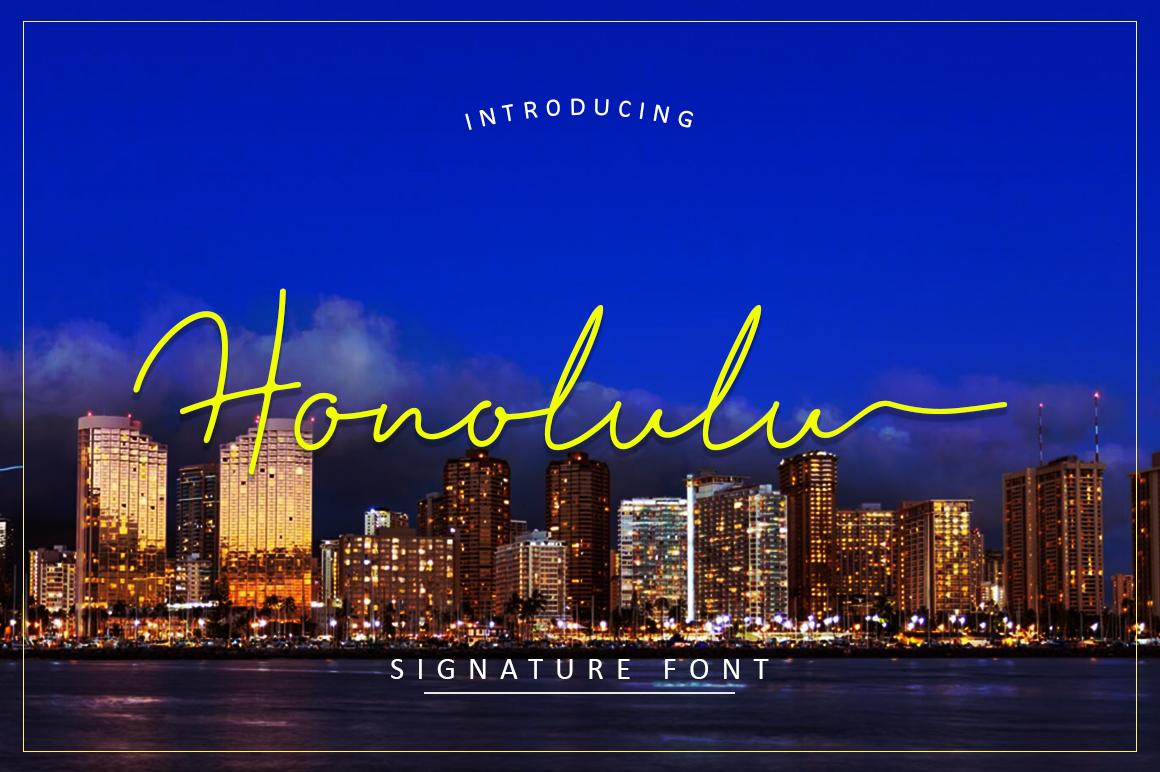 Honolulu example image 1