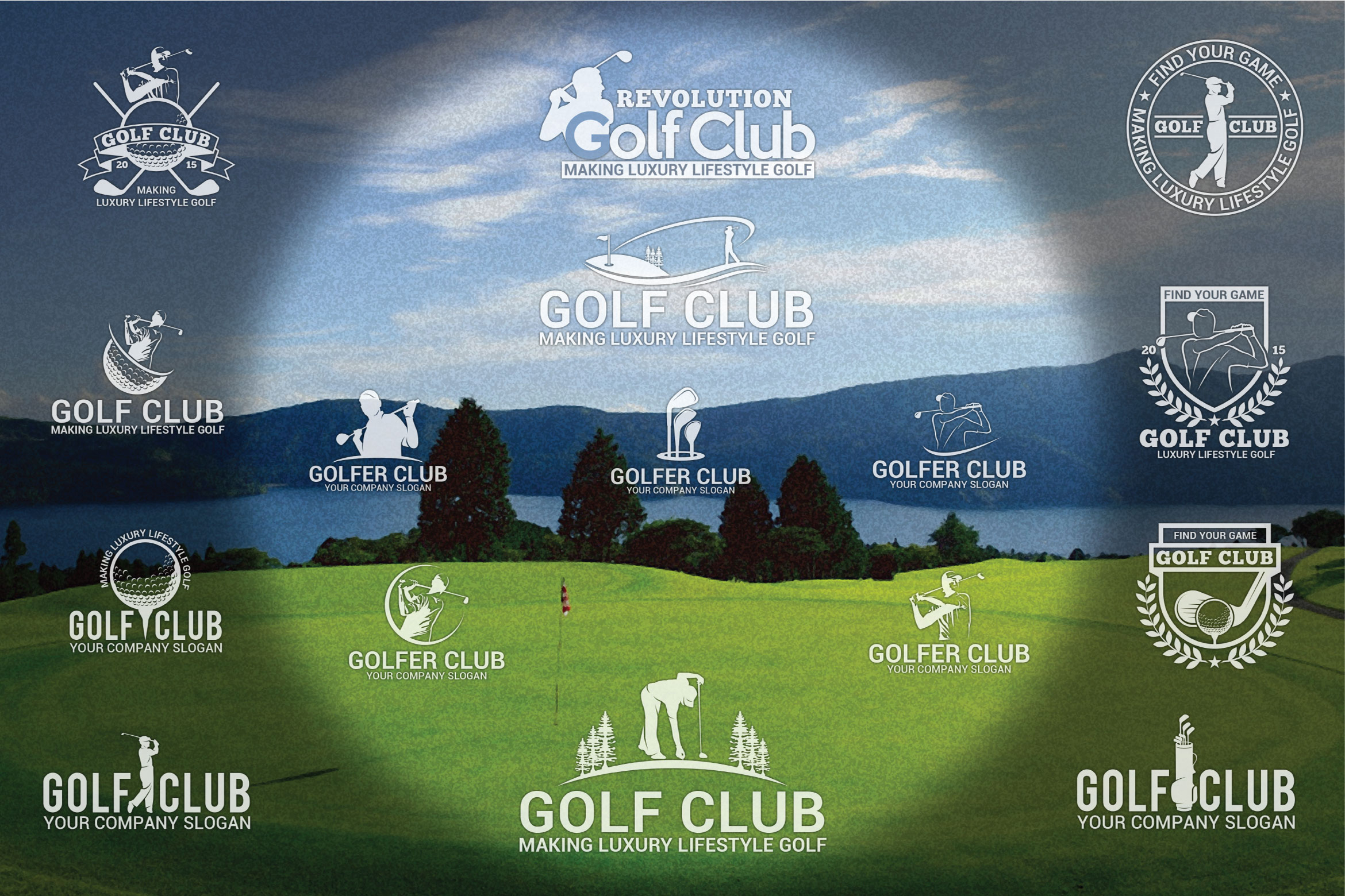 Golf Badges example image 1