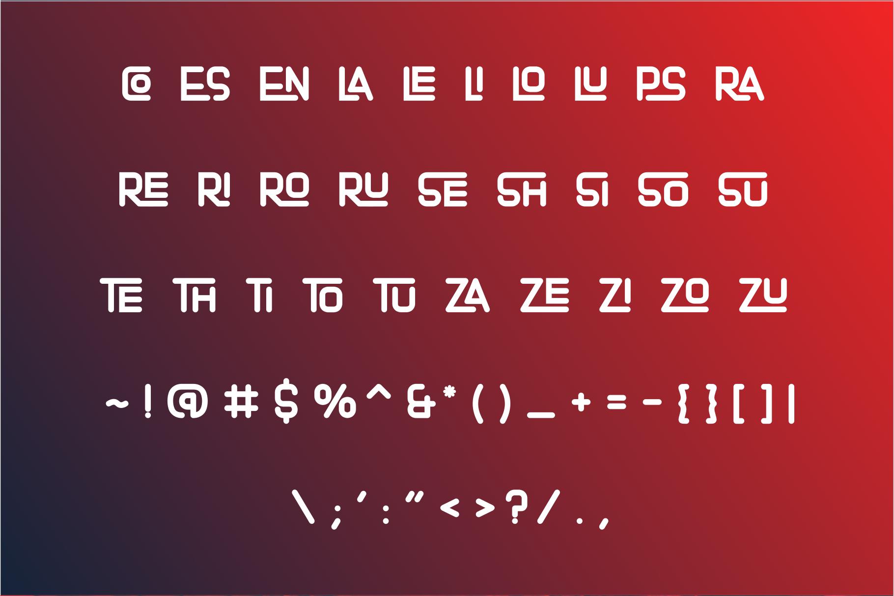 Matrouh Display font example image 5