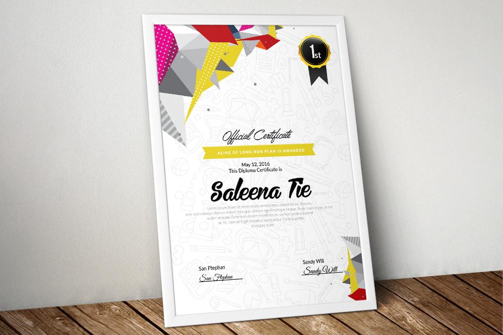 10 Certificates & Diploma Bundle example image 3