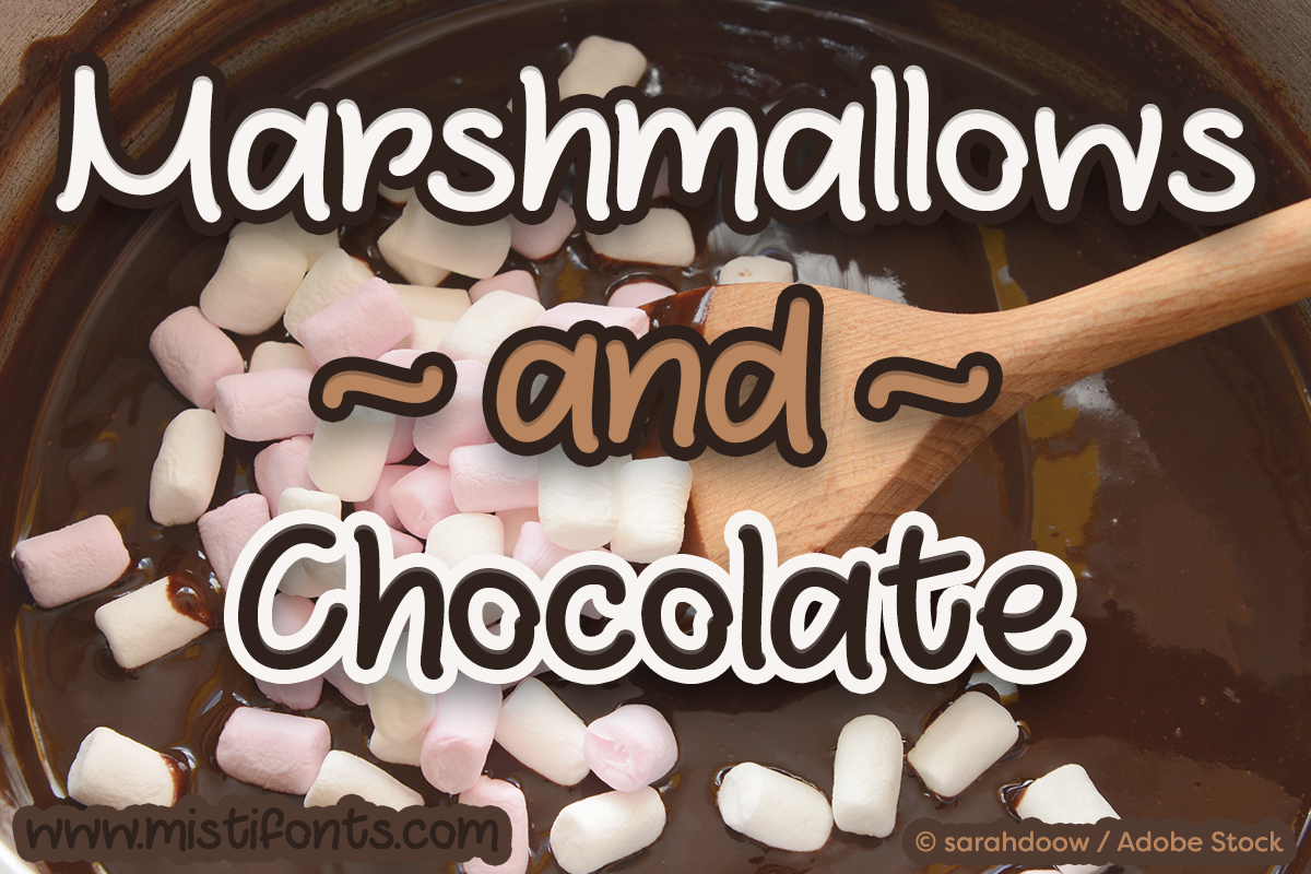 Marshmallows and Chocolate example image 1