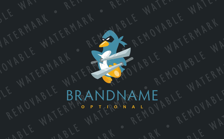 Ninja Penguin Logo example image 3