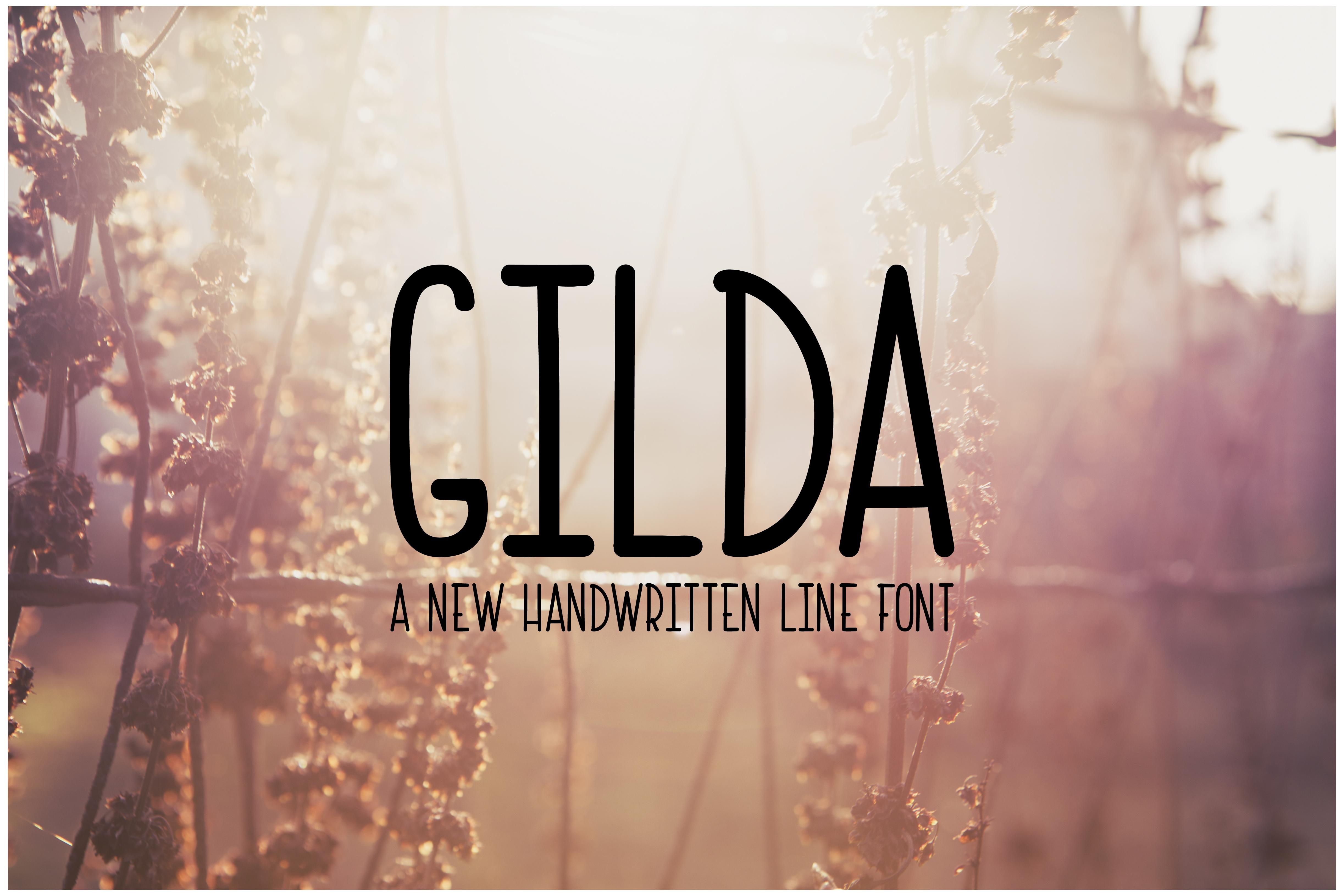 Gilda Font example image 1