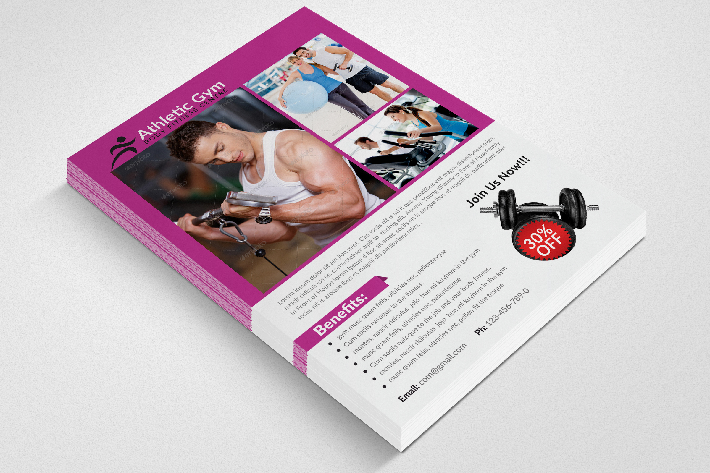Body Fitness Coaching Flyer example image 3