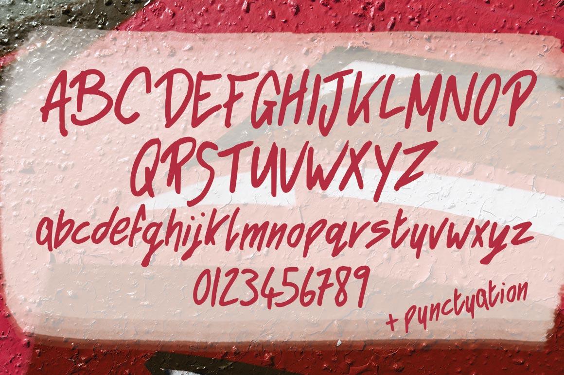 Rad Hyphen Font example image 3