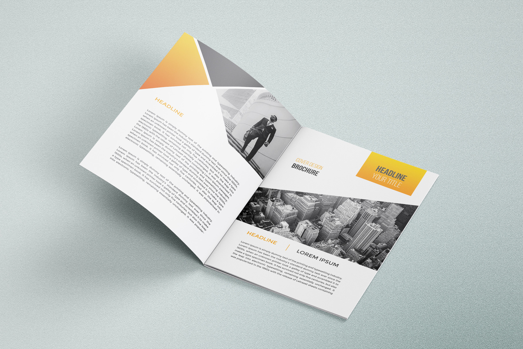 Business Brochure Template 03 example image 3