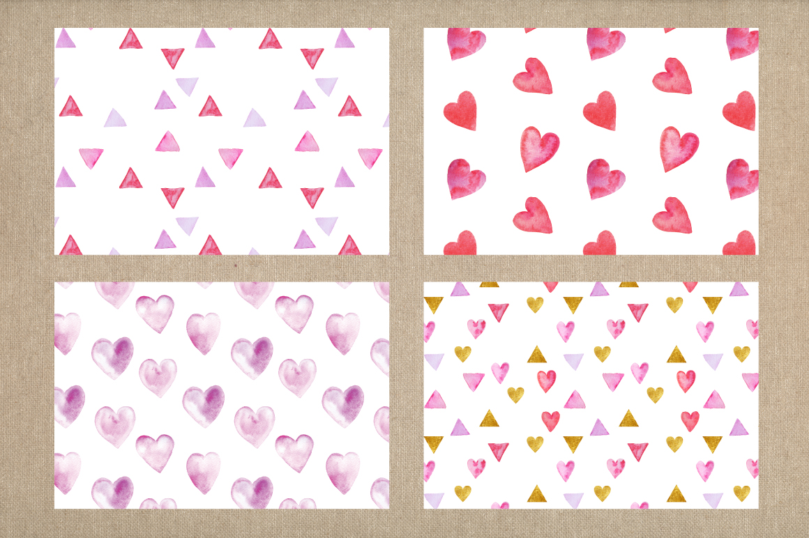 Valentine's day cards template example image 5