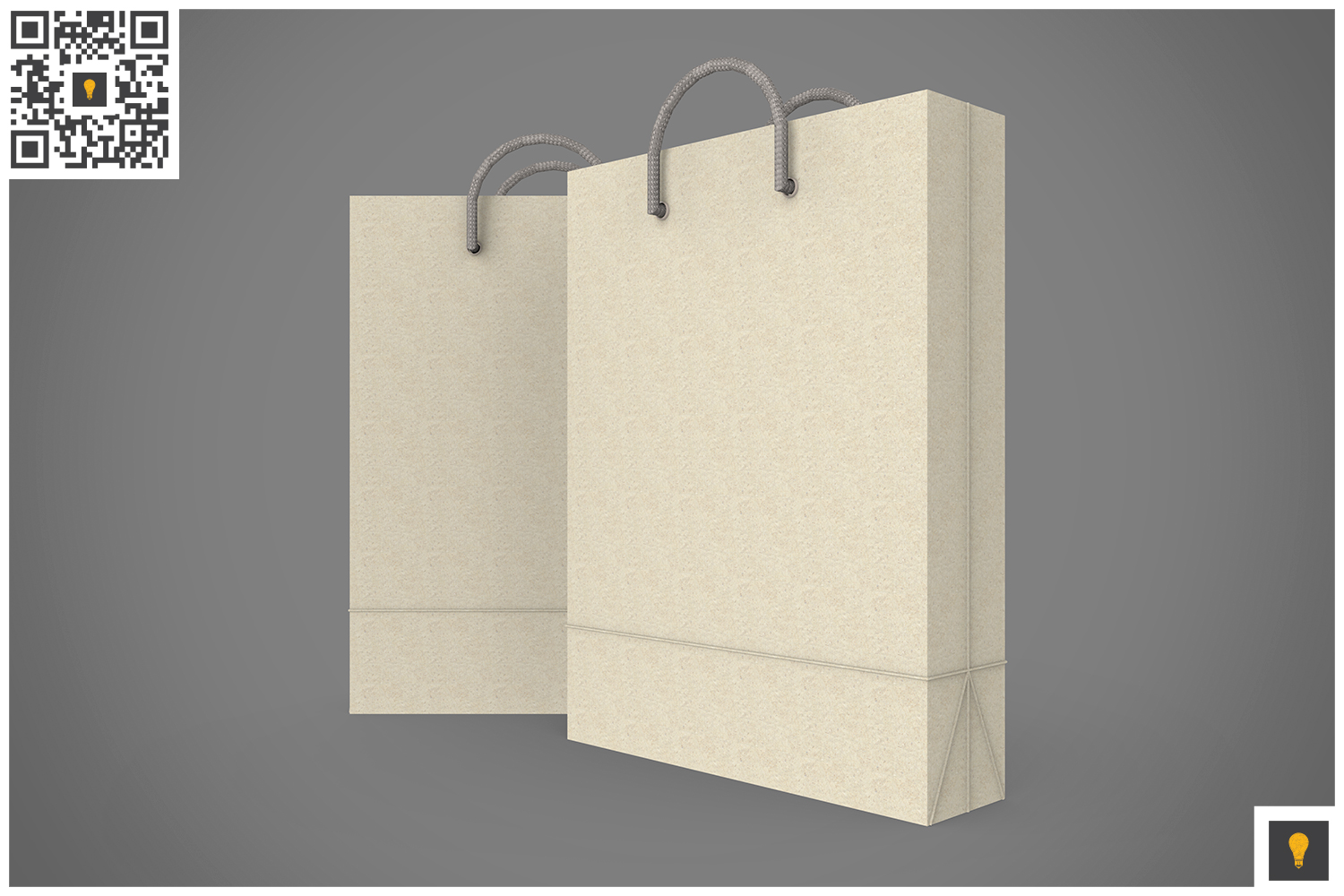 Shopping Bag 3D Render example image 10