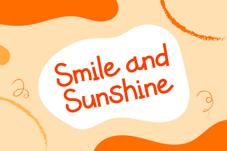 Caramelia - Playful Children Typeface example image 7