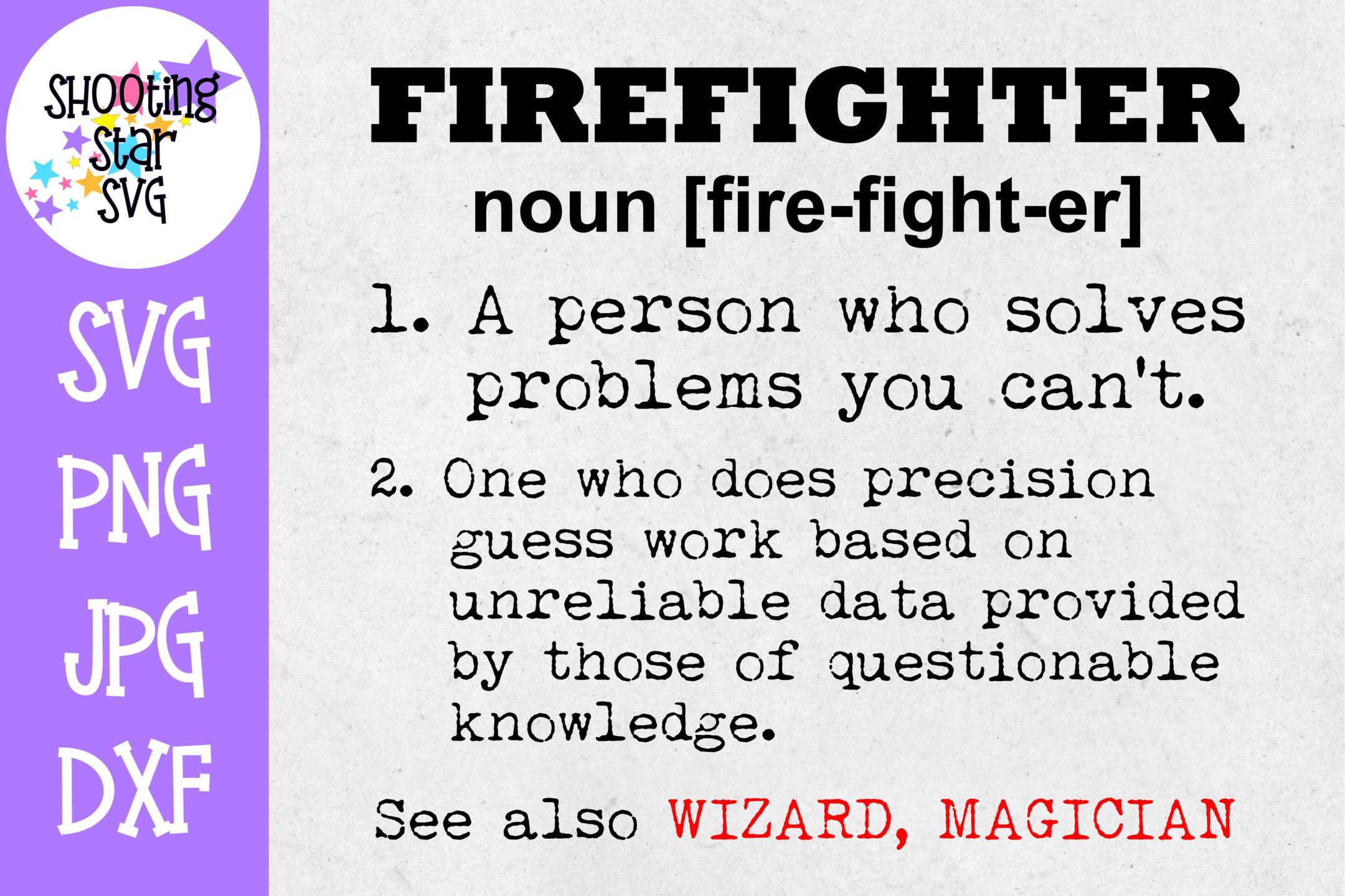 Firefighter Shirt SVG Bundle - Firefighter SVG - Fire SVG example image 2