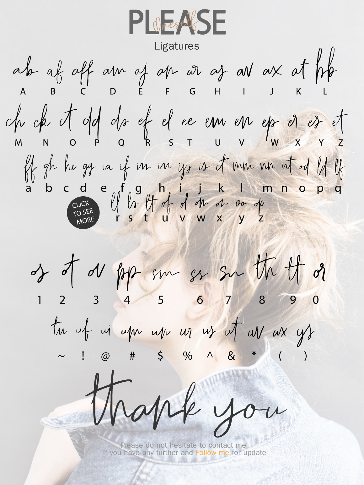 Please Oneself Font Duo example image 3