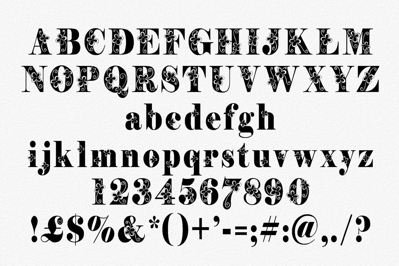 Storyteller font example image 2