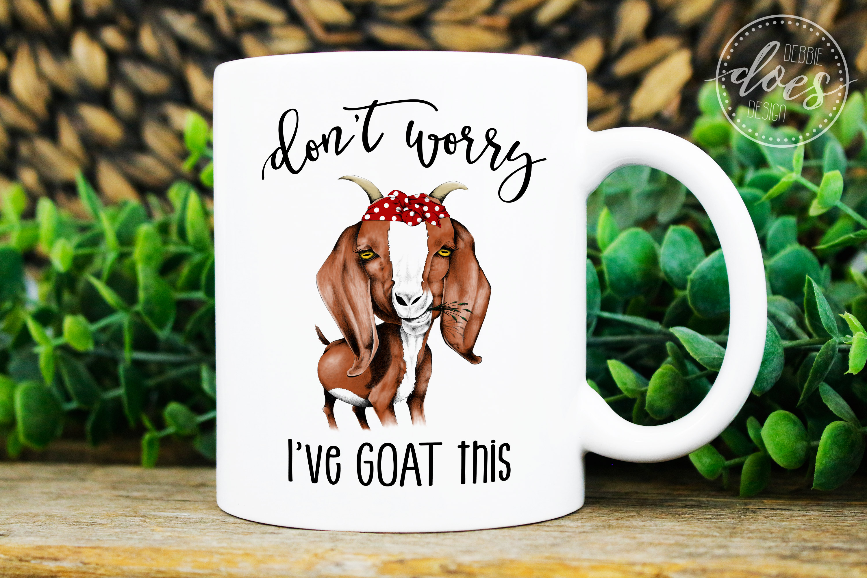 Don't Worry I've GOAT This - Hand Drawn Printable Design example image 4