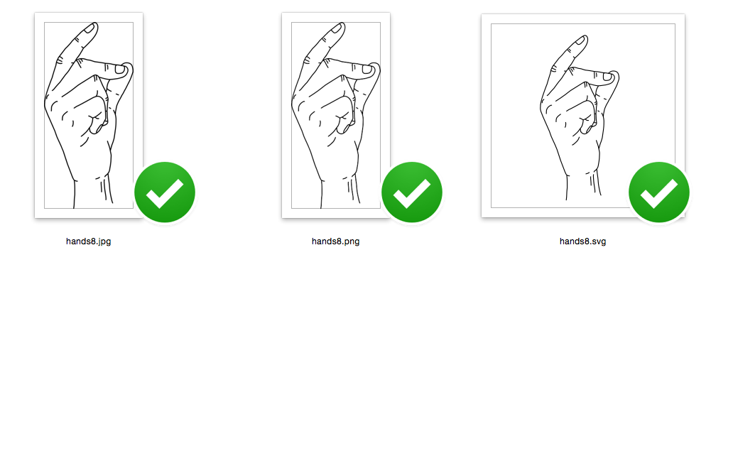 Snapping finger along with the song - like Elvis - SVG/JPG/PNG Hand Drawing example image 2