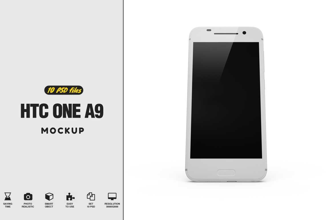 HTC One A9 MockUp example image 1