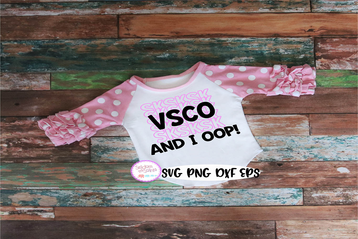 VSCO Girl SVG PNG EPS DXF example image 1