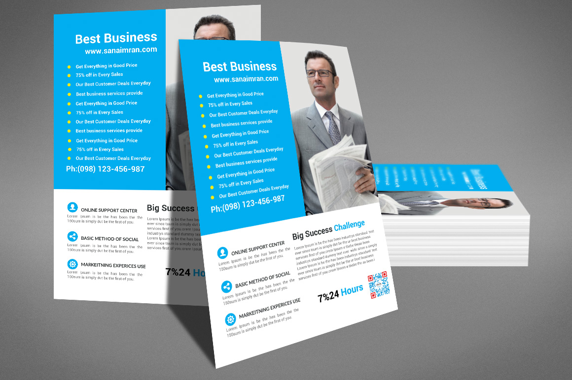 Business Flyer Template example image 4