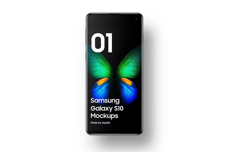 Samsung Galaxy S10 - 21 Mockups - 5K - PSD example image 8