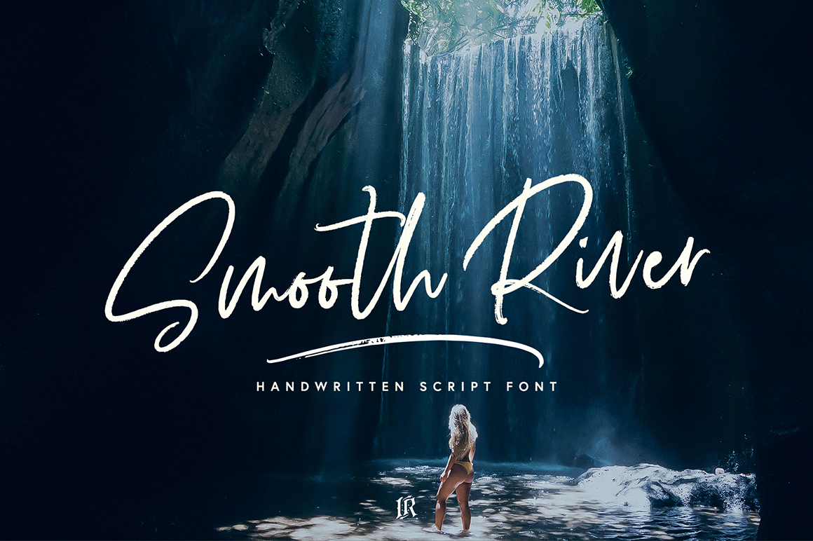 Smooth River Font example image 1