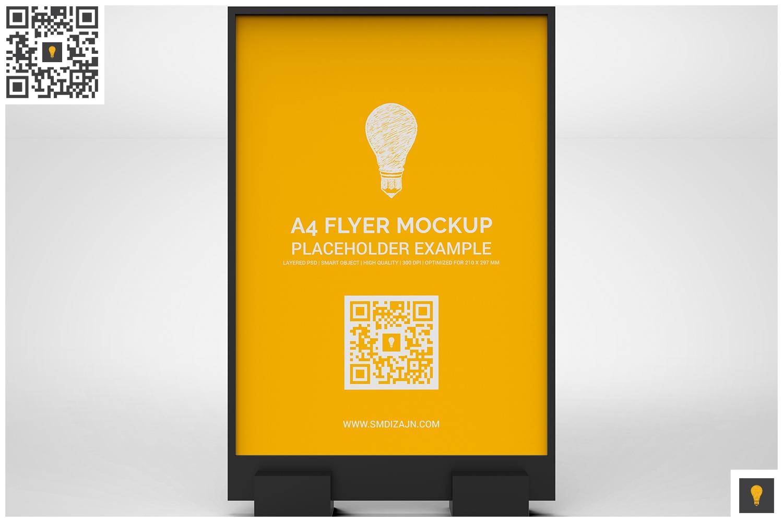 Flyer Display Mockup example image 5