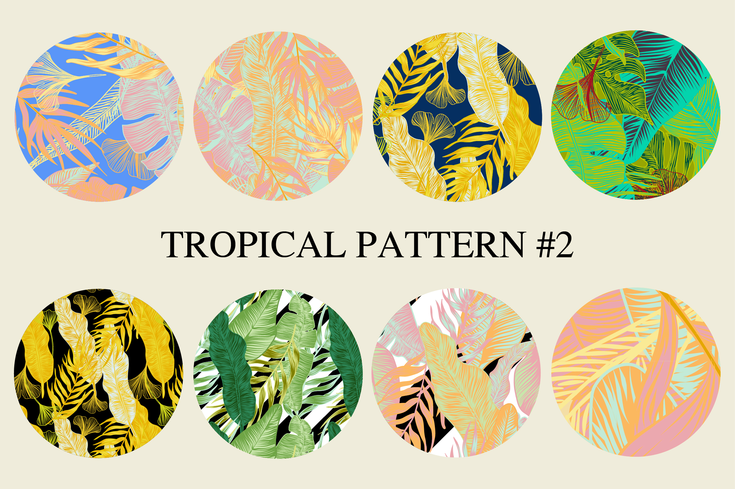 Tropical pattern example image 4