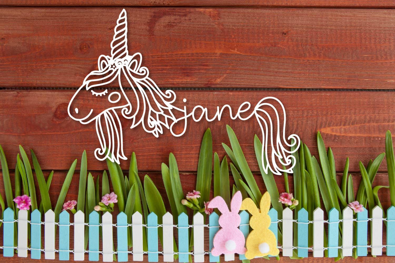 Unicorns - A Unicorn Name Maker Font example image 3