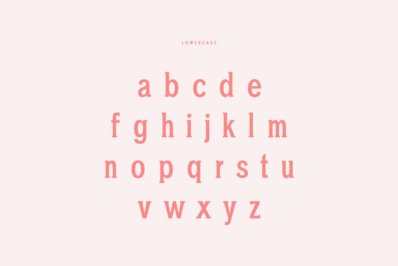 Chelina Slab Serif Font Family example image 3