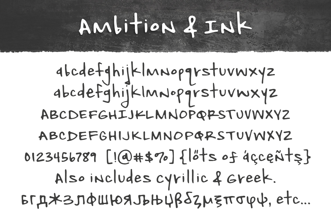 Ambition & Ink example image 3
