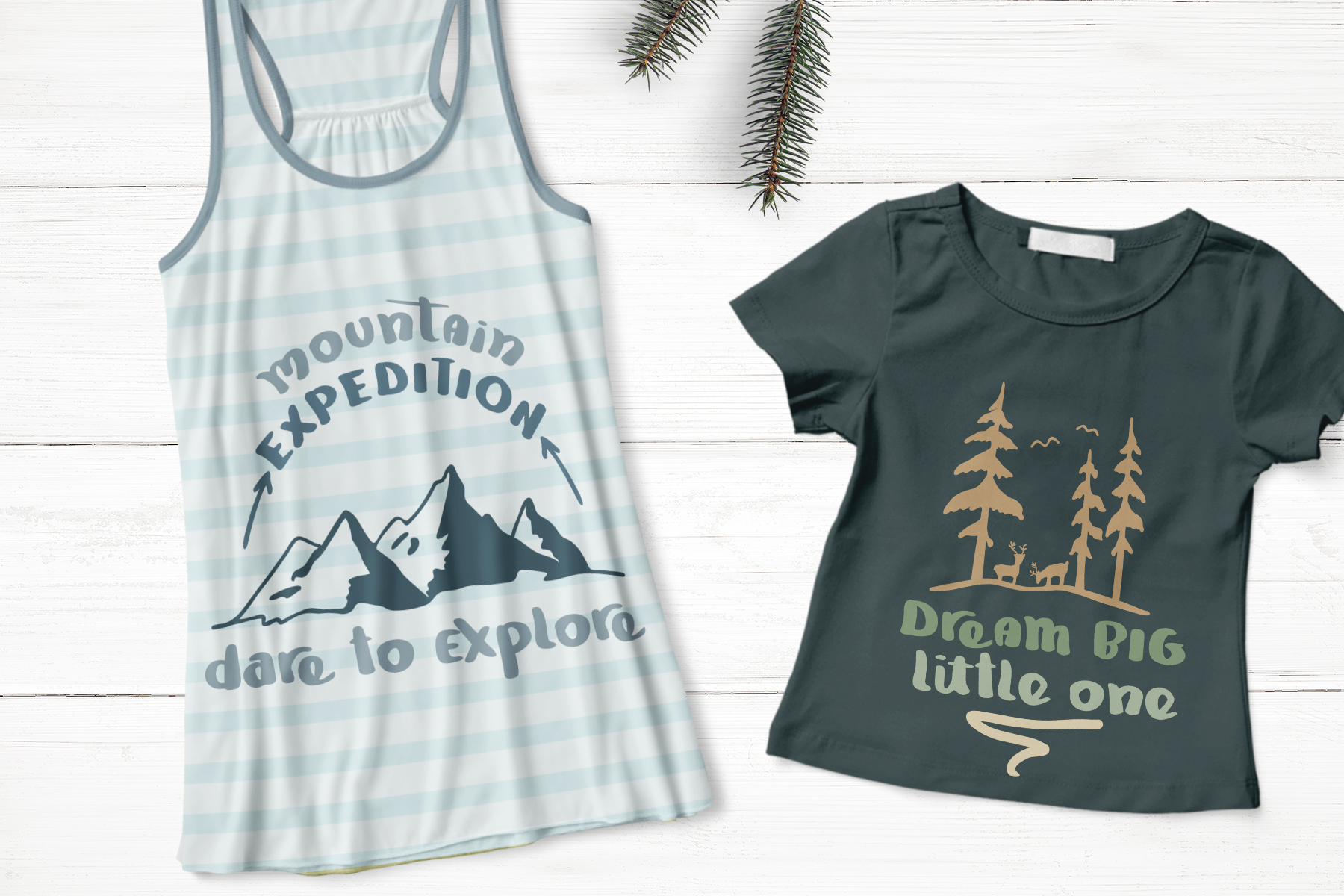 Mountain Journey - a Fun Font Duo example image 6